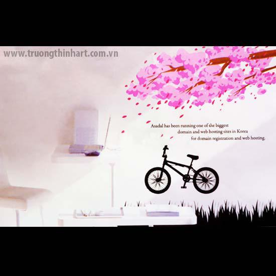 Tranh tường phòng trà - Mã: TTPT012