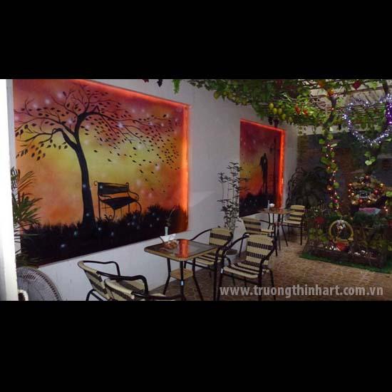Tranh tường phòng trà - Mã: TTPT013