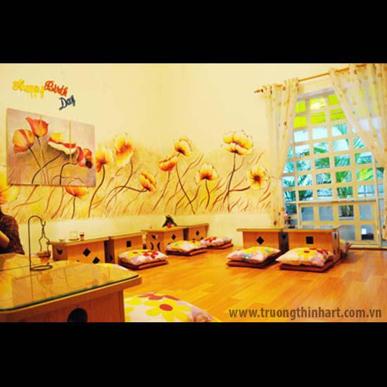 Tranh tường phòng trà - Mã: TTPT018