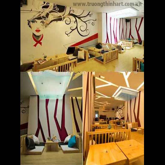 Tranh tường phòng trà - Mã: TTPT019