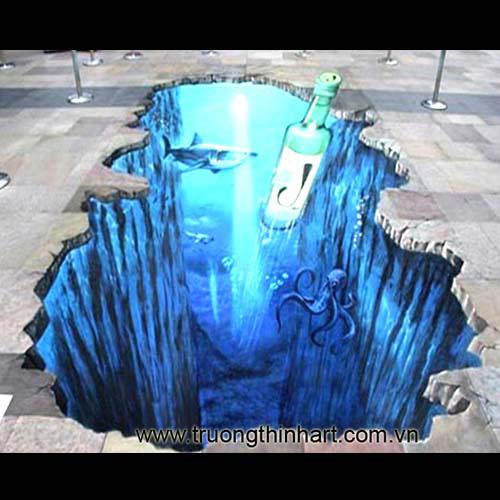 Tranh tường 3D - Mã: TT3D014