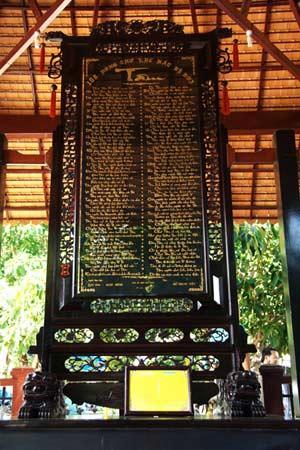 Bức tranh thư pháp có chữ Tâm nhiều nhất Việt Nam