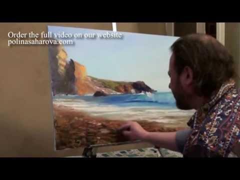 Hướng dẫn vẽ tranh phong cảnh sơn dầu